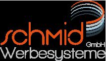 logo Werbepylone Leuchtreklame Schmid