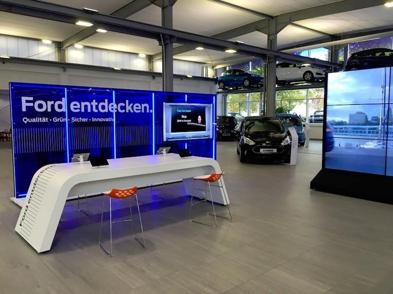 Videowall Ford Autohaus