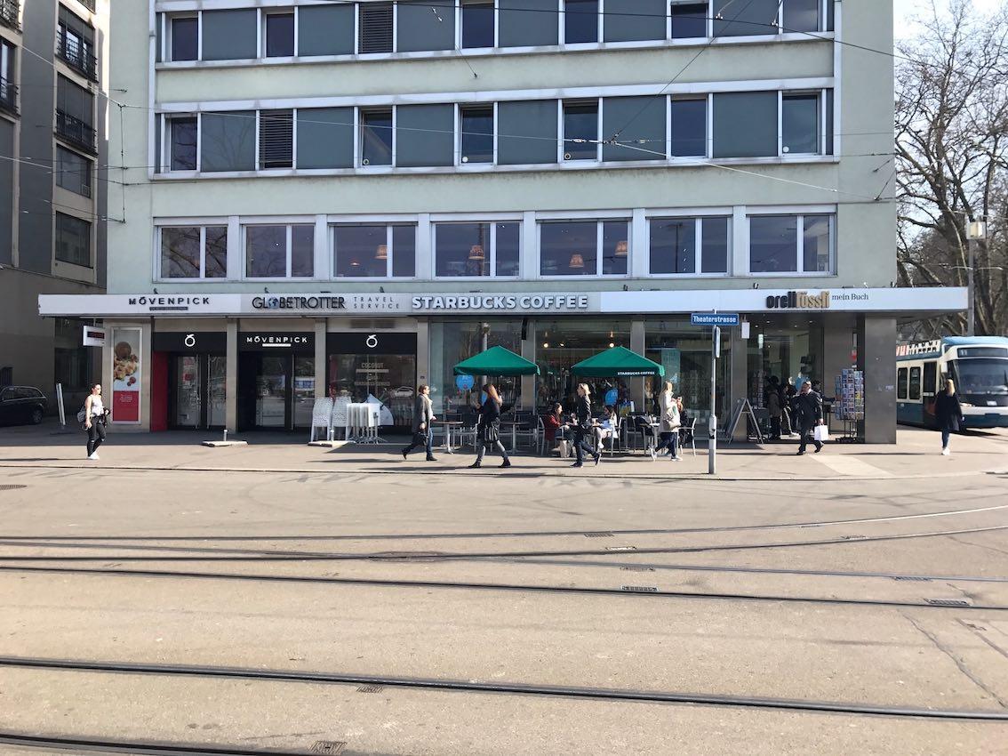 Reklamegesuch der Stadt Zürich (Umbau der Fassade, Einarbeiten des Schriftzuges Neurozentrum Bellevue)