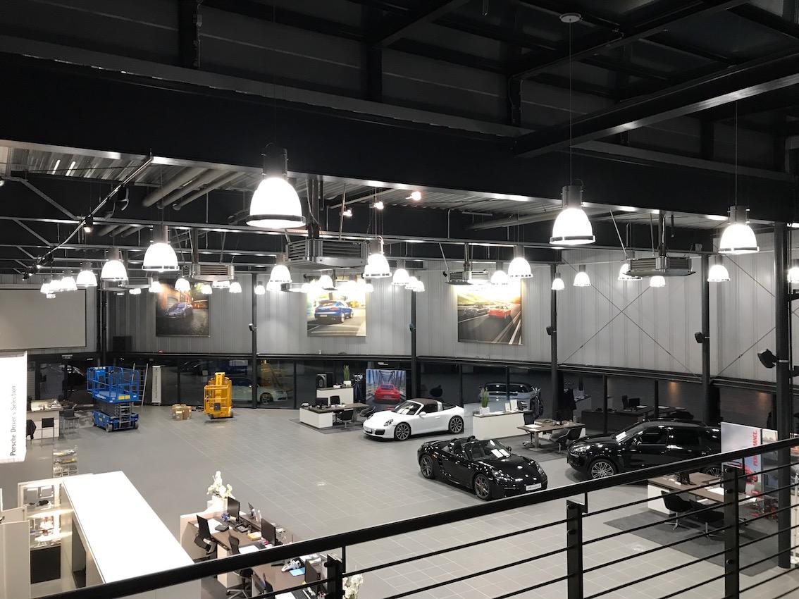 LED Umrüstung Porsche Zentrum Regensburg