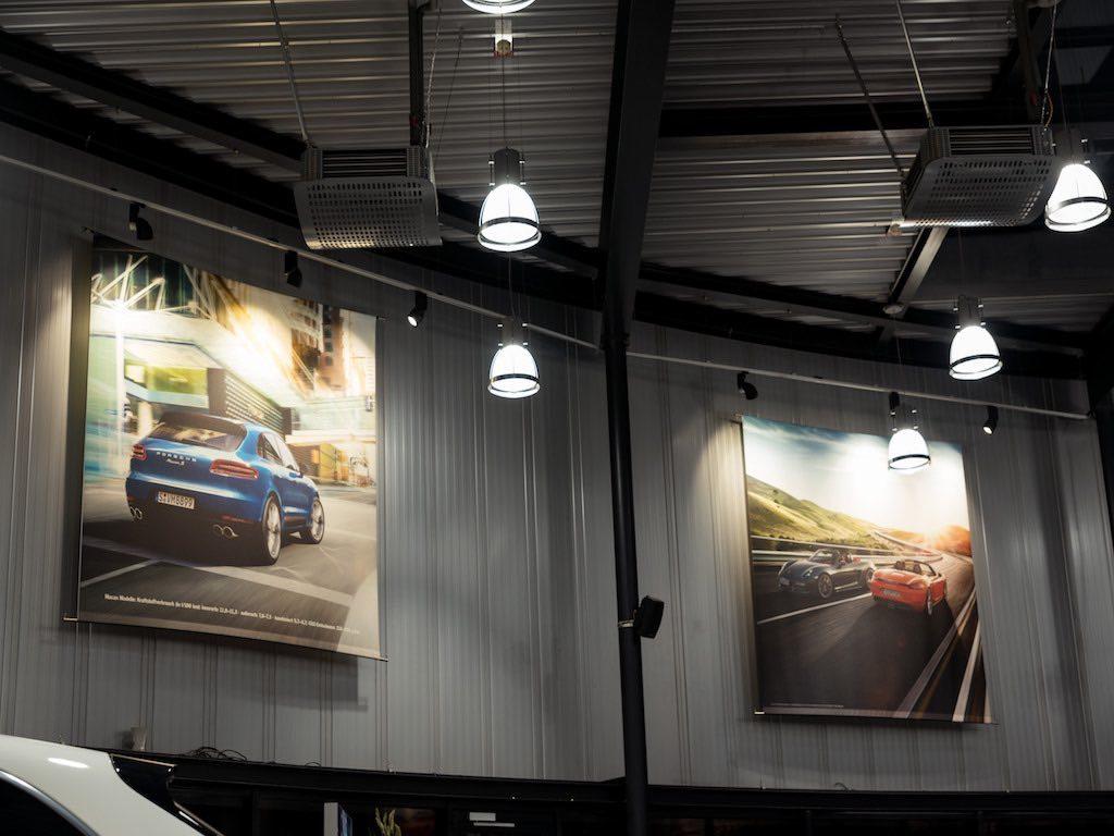 LED Umrüstung PZ Leuchtreklame seitliche Banner