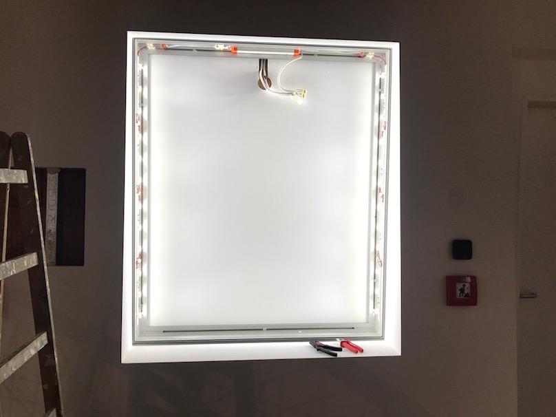 LED Lite Spannrahmen
