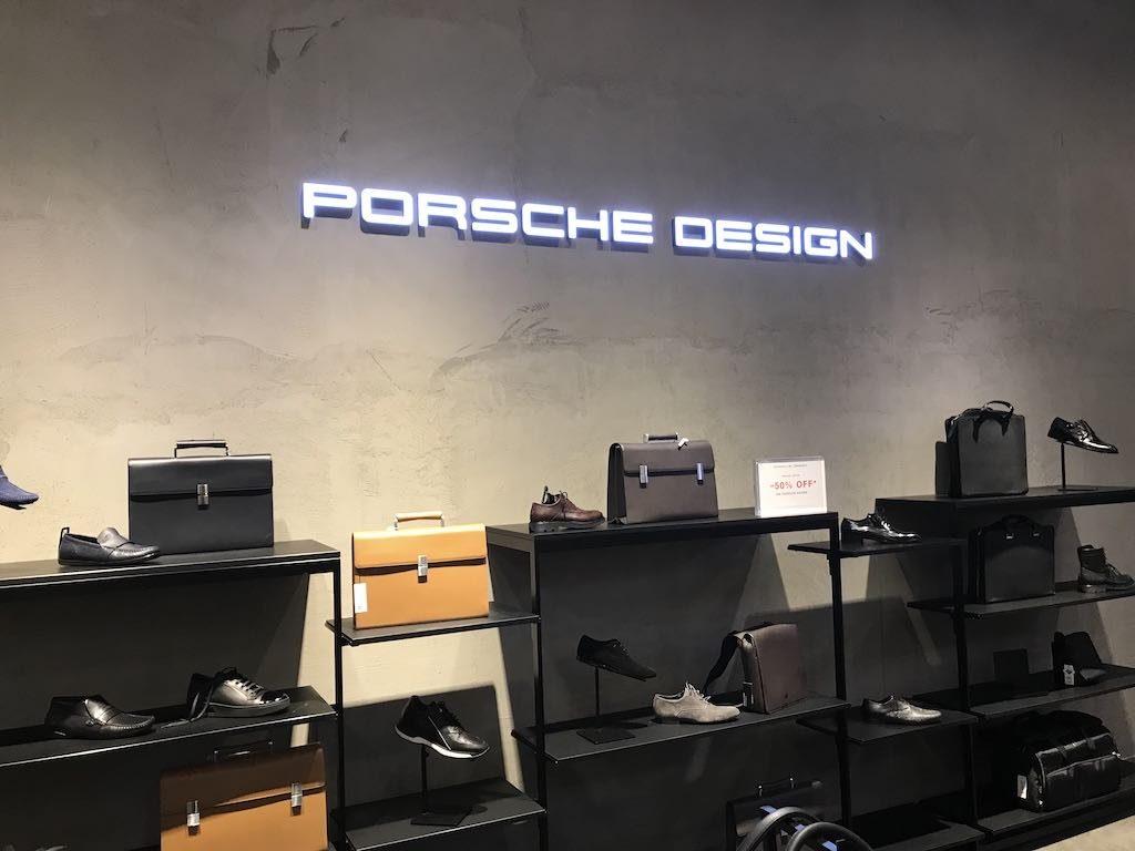 Porsche Design Schriftzug in Vollacryl 30 mm