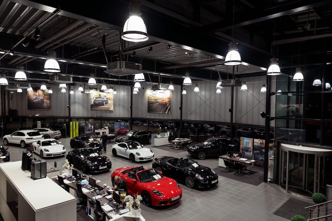 LED Umrüstung Autohaus