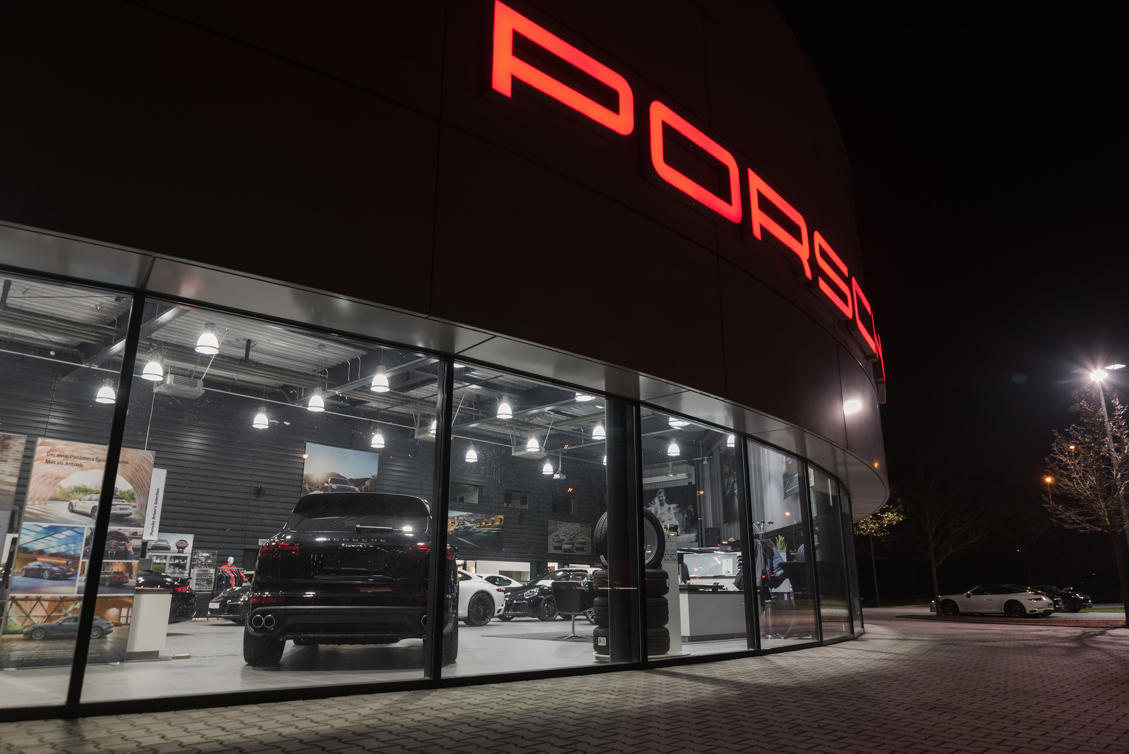 Porsche Einzelbuchstaben