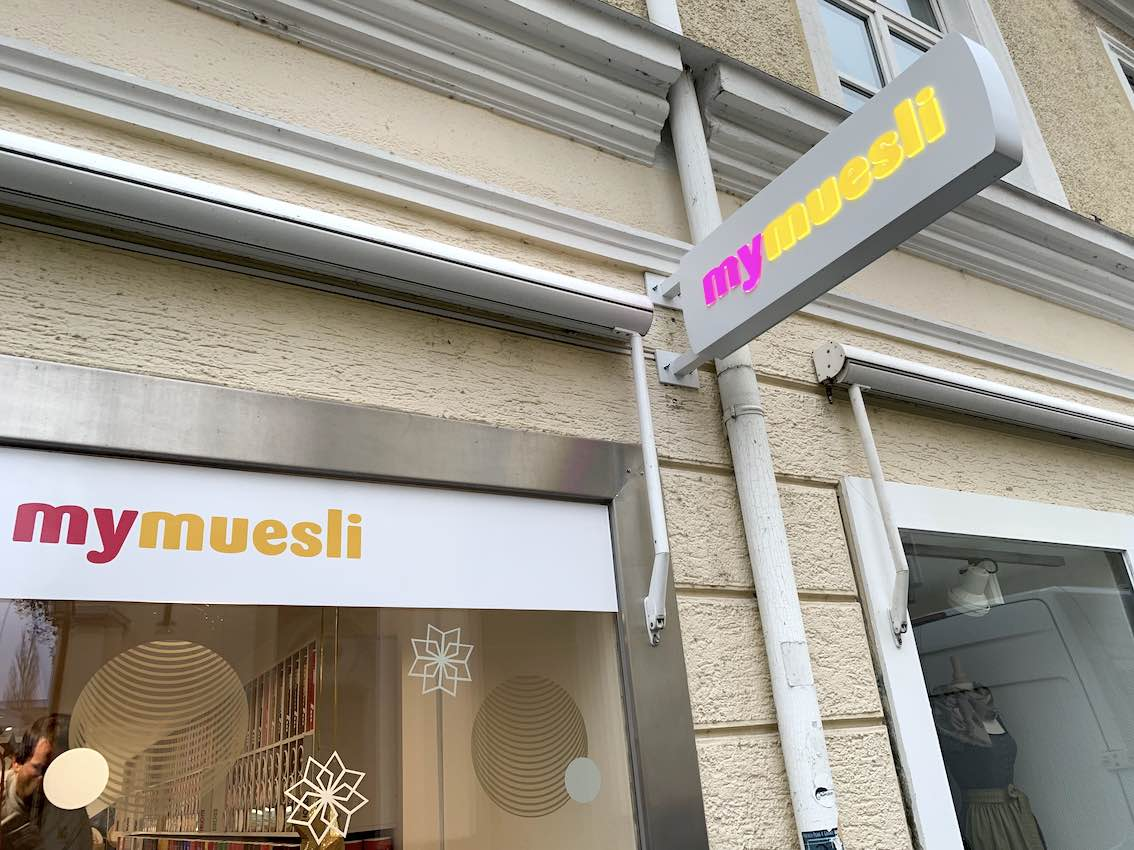 LED Nasenausleger Mymuesli in Passau