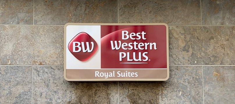 Best Western Plus Royal Suites Leuchtreklame herstellen