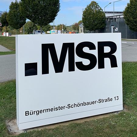 MSR Werbepylone